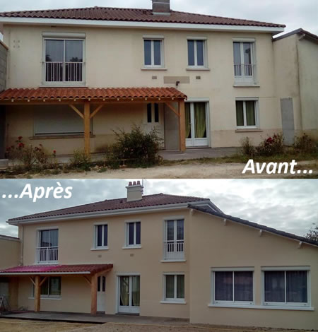 Ravalement de fa ades r novation fa ade d coration for Peinture de facade
